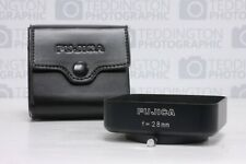 Fujica Lens Hood f=28mm Clamp on + Case