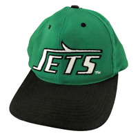 Vintage New York Jets, Retro Written Logo, Snap Back Hat, One Size, Classic, NFL