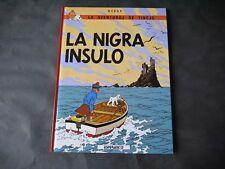 HERGE TINTIN L' ÎLE NOIRE EN ESPÉRANTO LA NIGRA INSULO ESPERANTIX 1987 NEUF