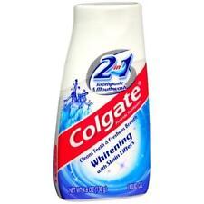 """Colgate 2 in 1 Toothpaste & Mouthwash, Whitening - 4.6 oz"""
