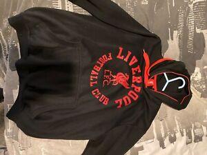 liverpool hoodie lfc black unisex pullover hoodie