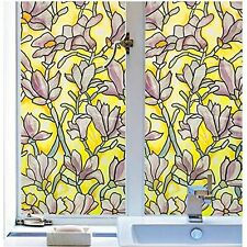 """JET-BOND JJ21 Static Electricity Cling Stained Glass Window Film Suncreen no 39"""""""