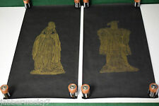 Brass Rubbing Decorative Art Westminster Abbey - Henry VIII & Anne Boleyn