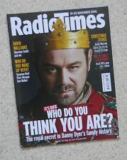 DANNY DYER – RADIO TIMES COVER 19 - 25 NOVEMBER 2016