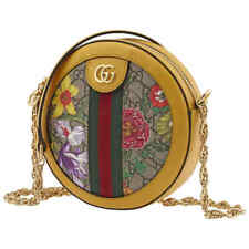 Gucci Ladies Ophidia GG Flora Round Shoulder Bag With Dust Bag.