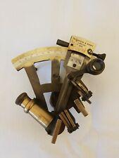 Antique Vintage Nautical Sextant  Throughton and Simms,