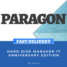PARAGON HARD DISK MANAGER 17 ★ 25 ANNIVERSARY ★ WINDOWS KEY ★ INSTANT DELIVERY