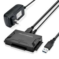 """USB 3.0 To IDE SATA Converter Hard Disk Hard Drive Adapter for 2.5"""" 3.5"""" HDD SSD"""
