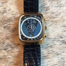NOS Vintage Elgin Kelek Automatic Chronograph Chrono Jump Hour Direct Read Watch