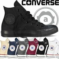 Converse All Star Hi Tops Mens Womens Unisex High Tops Chuck Taylor Trainers