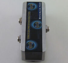 """TRS 1/4"""" to 2 TRS 1/4"""" Stereo Splitter Combiner Y-Cable Adapter Headphone 6.35mm"""