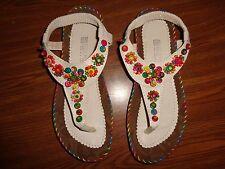 Multi-Color SANDALS WOMEN'S SIZE 39