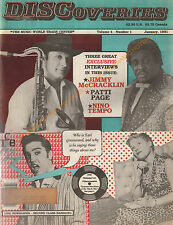 DISCOVERIES Music Magazine Newspaper-Elvis Presley-January 1991 RARE Free S&H