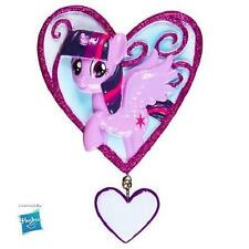 Licensed MY LITTLE PONY TWILIGHT X-mas Tree Ornament PERSONALIZED Hanging Heart