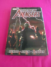 The New Avengers , Marvel comic book Vol.1 - Hardcover edition, Bendis,Finch