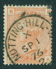SG 152 4d vermilion. Very fine used with a Notting-Hill CDS & small part...