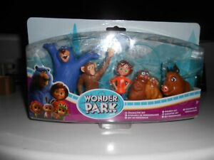 Wonder Park Movie Collectible Character Set Toys NEW
