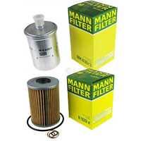 MANN-FILTER PAKET Ölfilter Kraftstofffilter Puch G-Modell W460 280 GE R107 500