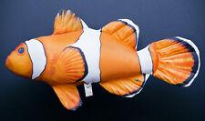 CLOWN FISH NEMO Ocellaris (Amphiprion ocellaris) SOFT TOY PILLOW GIFT 30cm