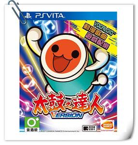 PSV 太鼓之達人 中文版  Taiko No Tatsujin V CHINESE VITA Music Games Bandai Namco