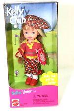 Barbie Kelly Club Golfer Liana 4 inch Doll 1999 Mattel New in Box with Poster