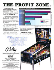 Twilight Zone Bally Pinball cpu chip upgrade 9.4 home rom