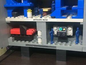 Vintage Mega Bloks Pro Builder Sea Wolf submarine #9775: Torpedo Room Gear