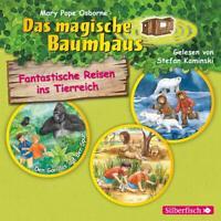 DAS MAGISCHE BAUMHAUS: FANTASTISC DEN GORILLAS AUF DER SPUR 3 CD NEU