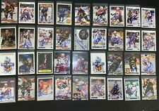 Nhl Hockey Classic Lot of 36 Signed Trading Cards Lindros Graves Sakic Hull.