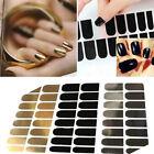 16pcs Beauty Foil Armour Nail Art Sticker Gel Nail Patch Manicure