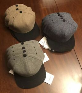 BNWT Norse Projects Wool Trucker Hat 3 Colors (Indigo, Grey, Brown) Made In USA