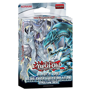 NEW Yugioh Saga of the Blue Eyes White Dragon Structure Deck Sealed