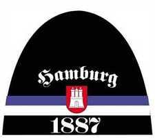 Gorro de punto Hamburgo 1887 Gorra con escudo Producto nuevo UNISEX Bandera