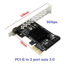 SATA III Expansión Tarjeta Adaptador Pcie PCI Express A 6Gbps 3.0 Nuevo Caliente