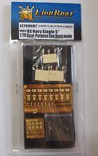 "Lionroar PE 1/700 WWII US NAVY Single 5"" Dual-Purpose Gun Open Mode LE700087"