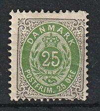 Dinamarca-MINR 29 B * - marco cabeza abajo