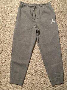 Nike Air Jordan Jumpman Flight Fleece Pants Size XL Gray 940172-091 Sweatpants