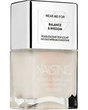NAILS INC The Mindful Manicure Highlighting Top Coat BALANCING ACT 14ml/.47oz
