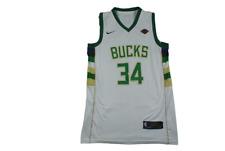 Maillot basket rétro Bucks Milwaukee N°34 Antetokounmpo NBA