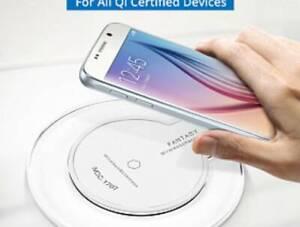 Wireless  Fast Charging Pad Apple iPhone Samsung Huawei