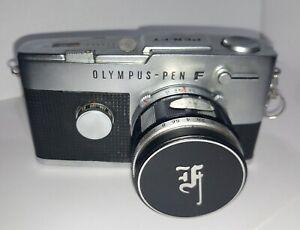 Olympus PEN FT with ZUIKO 40mm and original Olympus case.