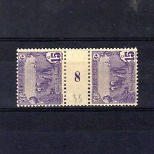 TUNISIE  n° 33 neuf avec charnière - Paire millésime 8