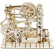Robotime DIY Mechanical Model Construction Kits 3D Wooden Puzzle Lift Coaster
