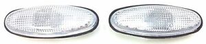 VR VS VT VX HOLDEN COMMODORE NEW REPLACEMENT PAIR OF CLEAR GUARD INDICATOR LAMPS