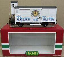 "LGB 4126 ""Thurn and Taris Beer"" Boxcar G-Gauge NIB"