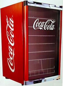 Husky Cubes HighCube Coca-Cola,Cool Cube,Getränkekühlschrank 115L,Glastür,EEK F