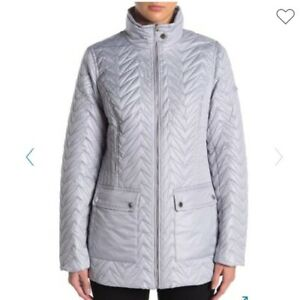 Quilted Cargo Jacket
