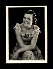 Maria Andergast Haus Bergmann Film Photos Zigarettenbild  ## BC 129088