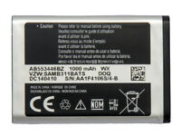 Samsung AB553446BA / BZ Battery 1000mAh For Gusto3 SM-B311V New Original OEM