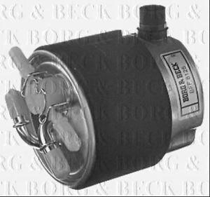 BORG & BECK FUEL FILTER FOR NISSAN NV200 DIESEL 1.5 63KW